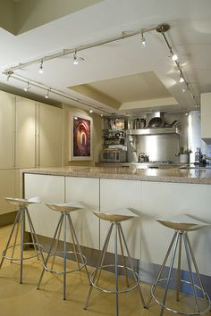 Monorail In The Kitchen Kitchen Remodeling Pinterest Ceilings - Kitchen rail lighting