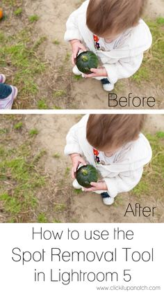 How to use the spot removal tool in Lightroom 5