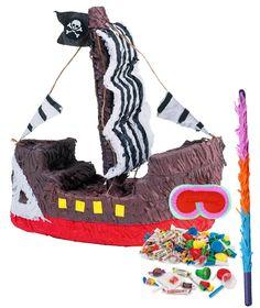 Pirate Ship Pinata Kit from BirthdayExpress.com