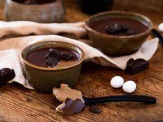 Baked Coffee & Chocolate Custard - Viva