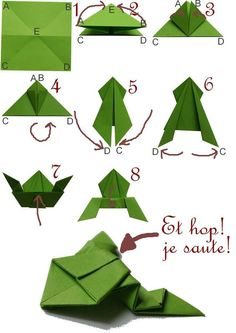 fácil crianças simples diversão Origami Frog (fun and easy) for playing with children Frog (fun and eas. Origami Frog (fun and easy) for playing with children Frog (fun and easy) for playing with children. Origami Design, Instruções Origami, Origami And Kirigami, Origami Ball, Origami Dragon, Useful Origami, Paper Crafts Origami, Origami Stars, Easy Origami For Kids
