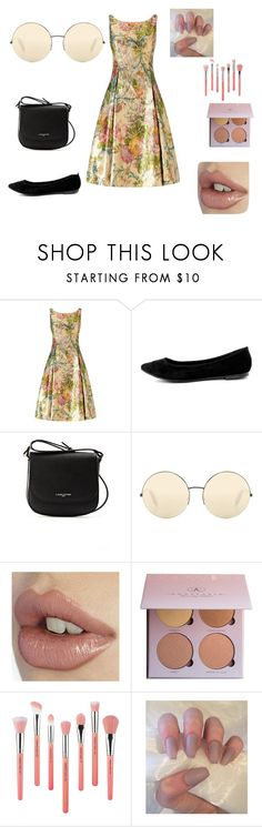 """Untitled #3"" by softic013 ❤ liked on Polyvore featuring Adrianna Papell, Breckelle's, Lancaster, Victoria Beckham, Bdellium Tools, men's fashion and menswear"