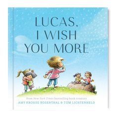 The I Wish You More book from I See Me! is an uplifting and unique gift for anyone! Shop this gift to wish them well in all that life has to offer. Personalized Books For Kids, Personalized Baby, I Wish You More, Book Creator, Anxiety In Children, Children Books, Everything Baby, Book Gifts, Graduation Gifts