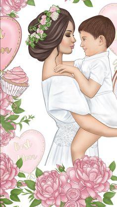 Mamá e hijo