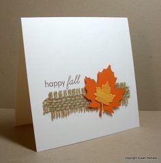 Happy Fall...Simplicity