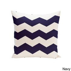 18 x 18-inch Chevron Print Decorative Throw Pillow - Overstock™ Shopping - The Best Prices on Throw Pillows