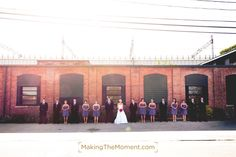 We <3 the old factories in Cleveland.  http://www.makingthemoment.com/blog/2012/marriott-key-center-wedding#