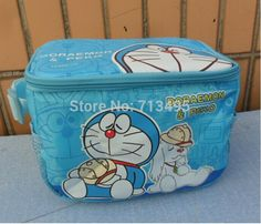 Free shipping new Foreign trade the original single Doraemon insulated lunch bags, lunch bag, kids lunch bag