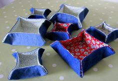 little fabric dishes