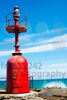 Small red lighthouse - royalty free photos by franky242 photography - buy and download this photo online
