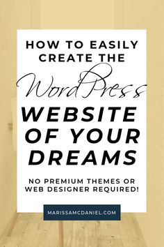 Designing a website is hard,especially if you have a WordPress theme holding you back. Check out why I ditched my WordPress theme for Elementor. Wordpress Admin, Wordpress Plugins, Wordpress Theme, Admin Login, Learn Wordpress, Ecommerce, Wordpress Guide, Wordpress Support, Tips