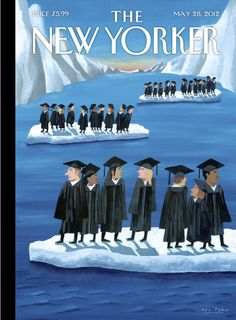 The New Yorker Cover - May 2012 Premium Giclee Print by Mark Ulriksen The New Yorker, New Yorker Covers, Capas New Yorker, Entertainment Jobs, Magazine Art, Magazine Covers, Design Magazine, Vogue, Thing 1
