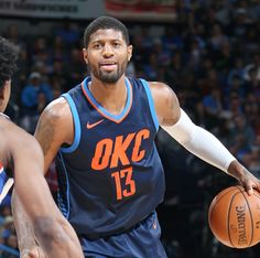 Paul George with the new threads