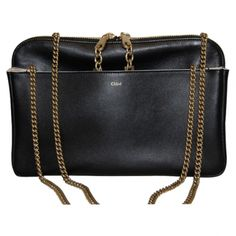 #Lucy #bag #Chloé #sales #VestiaireCollective #black #chain