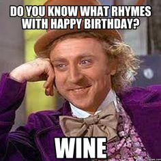 Hy Birthday Memes Wine Astronomybbs Info
