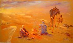 Artwork >> Breton Michel >> Nomades dans le désert