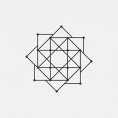 "dailyminimal: "" #JA16-470 A new geometric design every day """