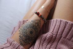 #tattoo #tattoogoals #mandala #inked #woman #sleeve #fineline