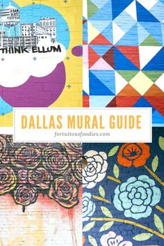 Dallas Mural Guide | Murals in Deep Ellum Dallas | The Best Places to Take Your Picture in Dallas | Dallas Photography Locations | #AD | LIFEWTR | #ThirstInspiration