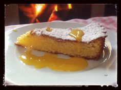 Pan di Spagna di Mandorle all'arancia...