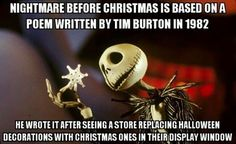 The Idea Behind The Nightmare Before Christmas