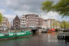 City of Amsterdam in Netherlands, North Holland.