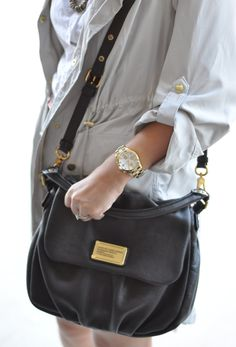 """Little Ukita"" bag, and ""Henry"" Chronograph Watch.  Can't get enough of Marc by Marc Jacobs."