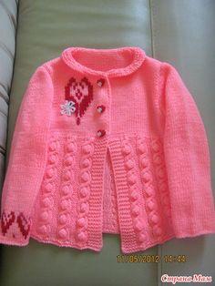 Кофтейка для дочи - Вязание для детей - Страна Мам