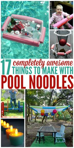 These pool noodle hacks are pure genius! And some of them look really fun. - One Crazy House