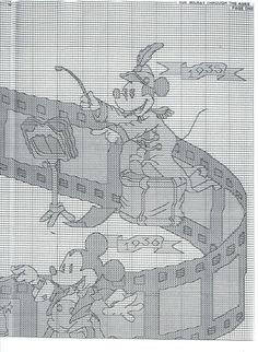 Gallery.ru / Disney - Mickey Through The Ages 2.jpg - H034 - Milka35