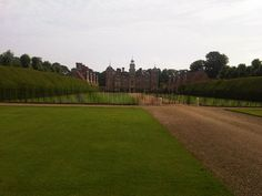 Our Reps view this morning at his first call National Trust Blickling Hall, it's a hard life.......!!!