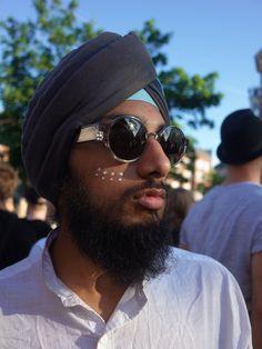 KAIBOSH | UNTAMED MONARCH @ DISTORTION / Face Hunter Scandinavian Festival, Eye Shapes, Festival Fashion, Eyewear, Sunglasses, Face, How To Wear, Style