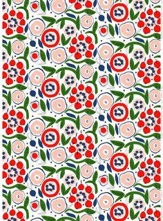 marimekko floral