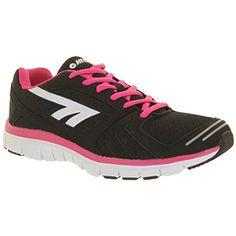 efdae8796b2ef HiTec Haraka Womens Running Shoes 6 Black     Click on the image for  additional
