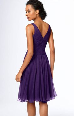 JS Collections Sleeveless Chiffon Cocktail Dress