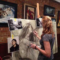 Rebecca Guay (at Society of Illustrators)