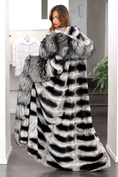 Chinchilla and Silver Fox from Elsa Furs 13