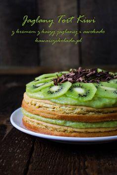 tort jaglany kiwi2 (14) Kiwi, Homemade Sweets, Avocado Toast, Breakfast, Desserts, Breakfast Cafe, Tailgate Desserts, Deserts, Dessert