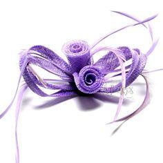 Tocado y prendido de flores para eventos, fiestas y bodas