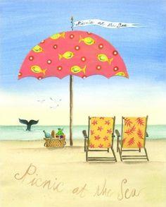 Picnic at the Sea (Katharine Gracey)