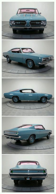 1967 Plymouth Barracuda.
