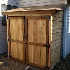 Cedar Picket Fence Lean To - DIY Shed - 16 Designs to Inspire Yours - Bob Vila