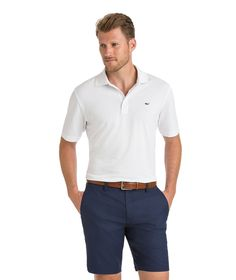Vineyard Vines Tempo Performance Pique Polo