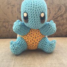 schiggy anleitung squirtle pattern häkeln crochet pokemon amigurumi
