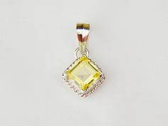 Champagne Colored Gemstone Power Object Pendant