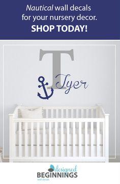 Nursery wall decals, Nursery wall decor, Wall letters for nursery ...