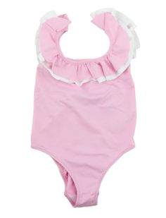 Girls swimsuit with frills  I  Il Gufo