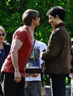 """Bradley's always playing this game, and it's called """"Let's See How Much I Can Annoy Colin""""."""