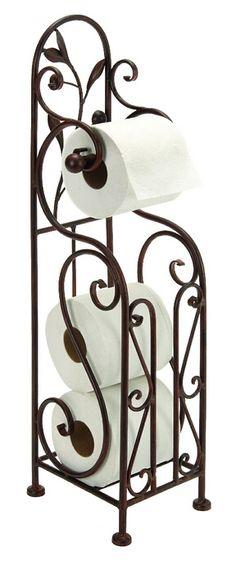 Metal Toilet Paper Holder For Bathroom Toilet Furnishing