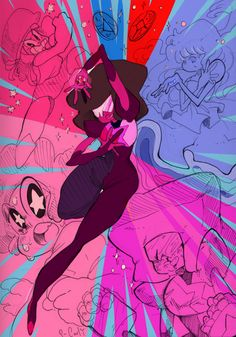 curlyconundrum:THIS IS WHO I AM!(cries because I love garnet and steven universe so much)